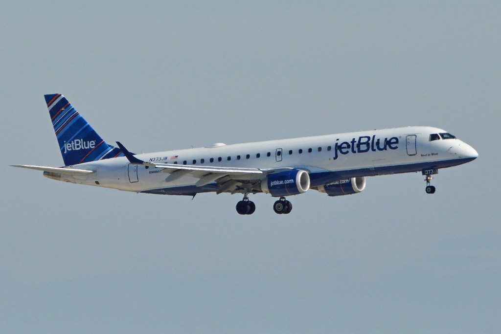 JetBlue airliner