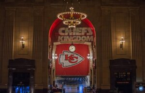 An image of the Kansas City Chiefs banner